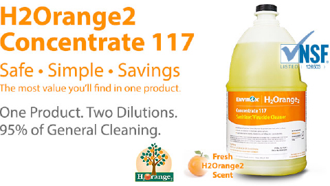 Envirox H2orange2 Concentrate 117 Simple Measures Pc
