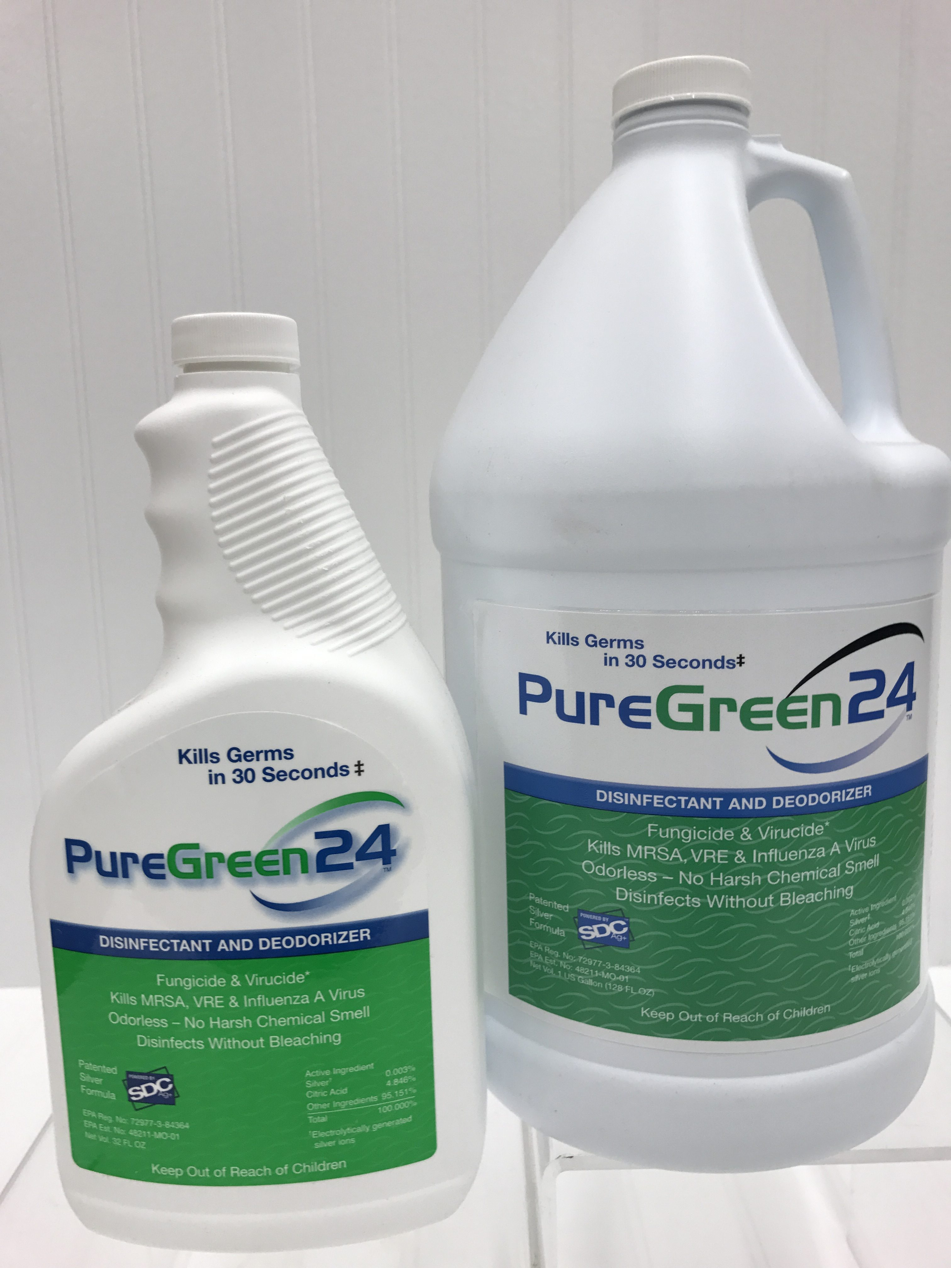 Pure Green 24 Pc Janitorial